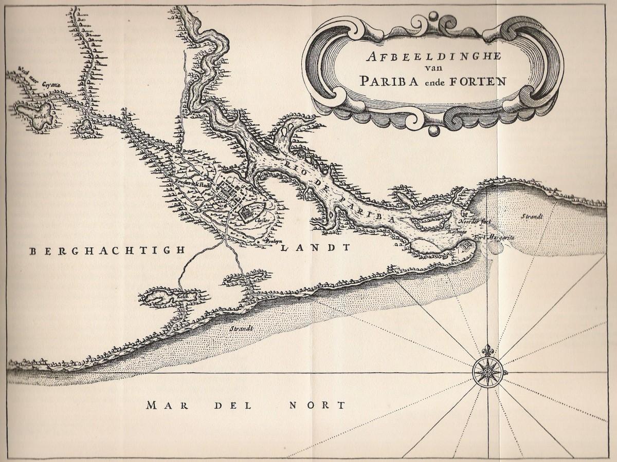Paraiba, de Laet 1634