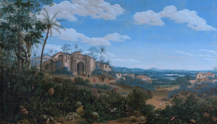 View of Olinda, Brazil, by Frans Post